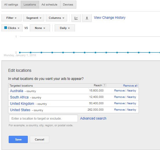 Using Geo-Targeting on AdWords