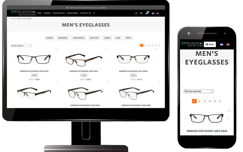 glasses website