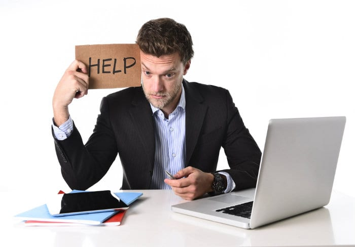 getting in over your head in business