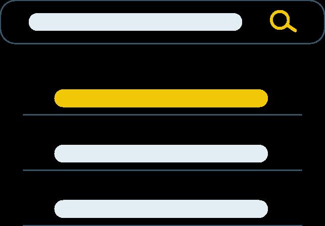 search illustration